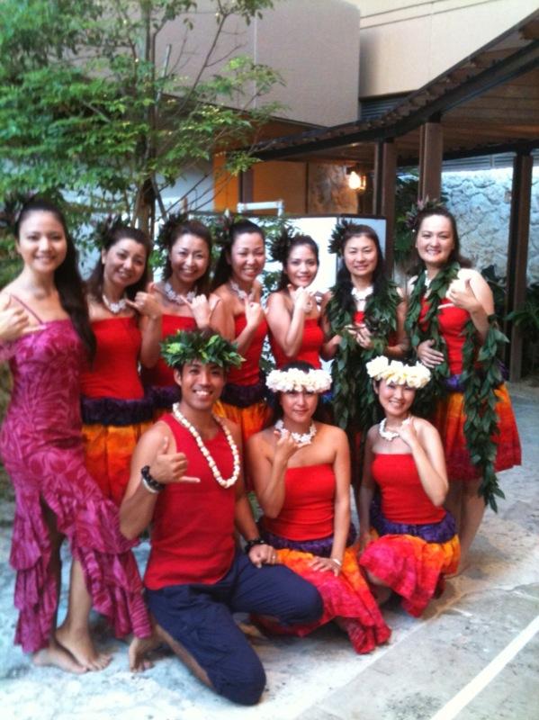 2010年10月 ハワイアンナイト・ナイト 場所:沖縄ハーバービューホテル