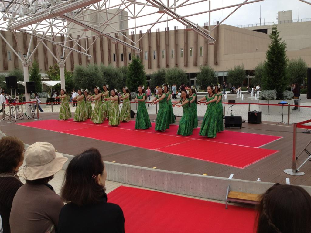 2012年10月14日(日) Lanai Lani Festival