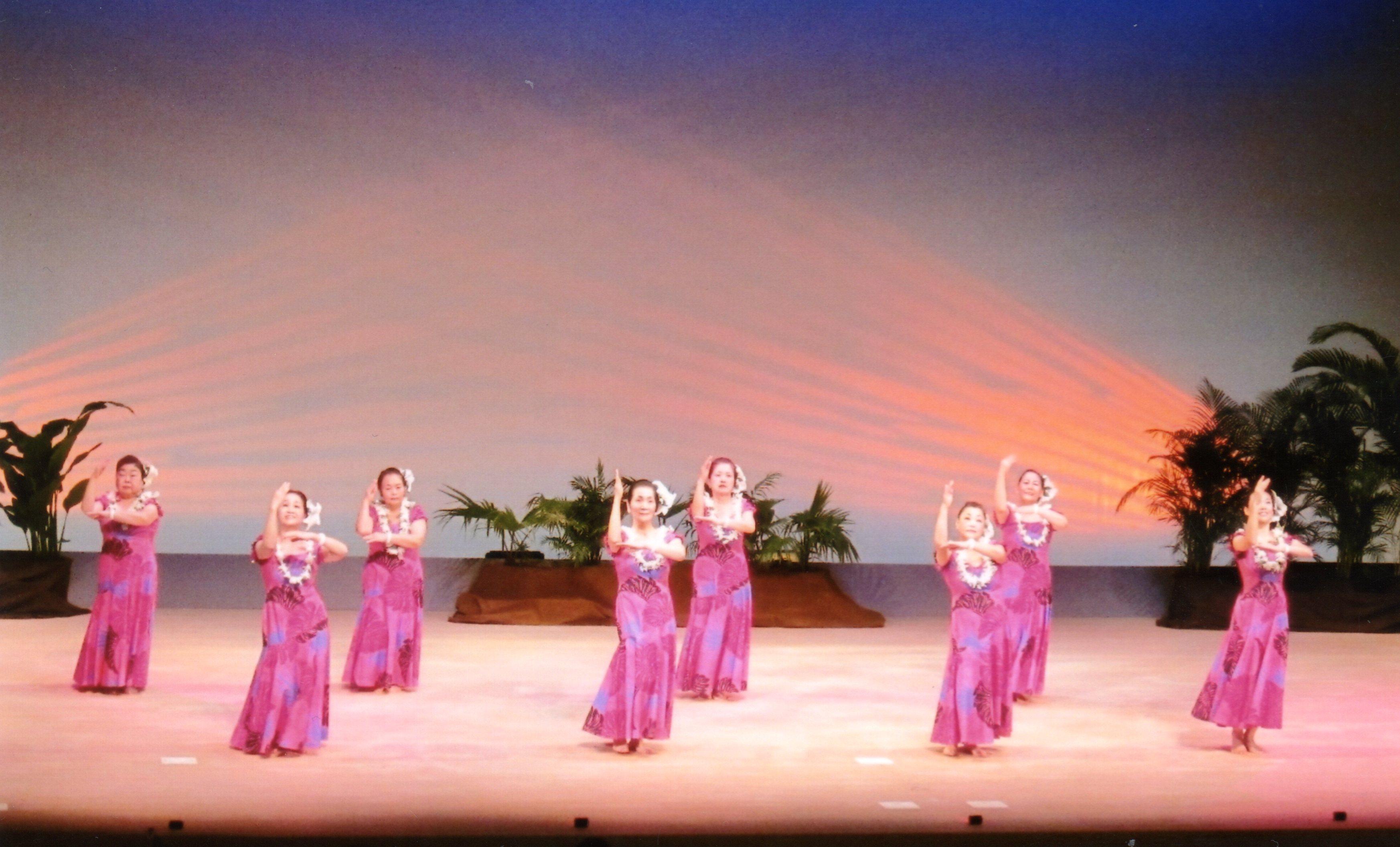 2012年12月16日(日) ハワイアン フラ フェスティバル in 美原