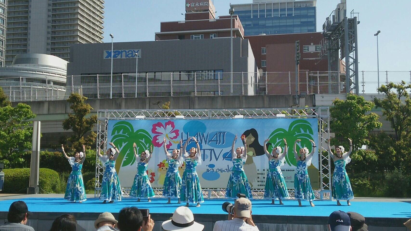 2018年5月5日(土・祝)Hawaiian Festival in OSAKA2018