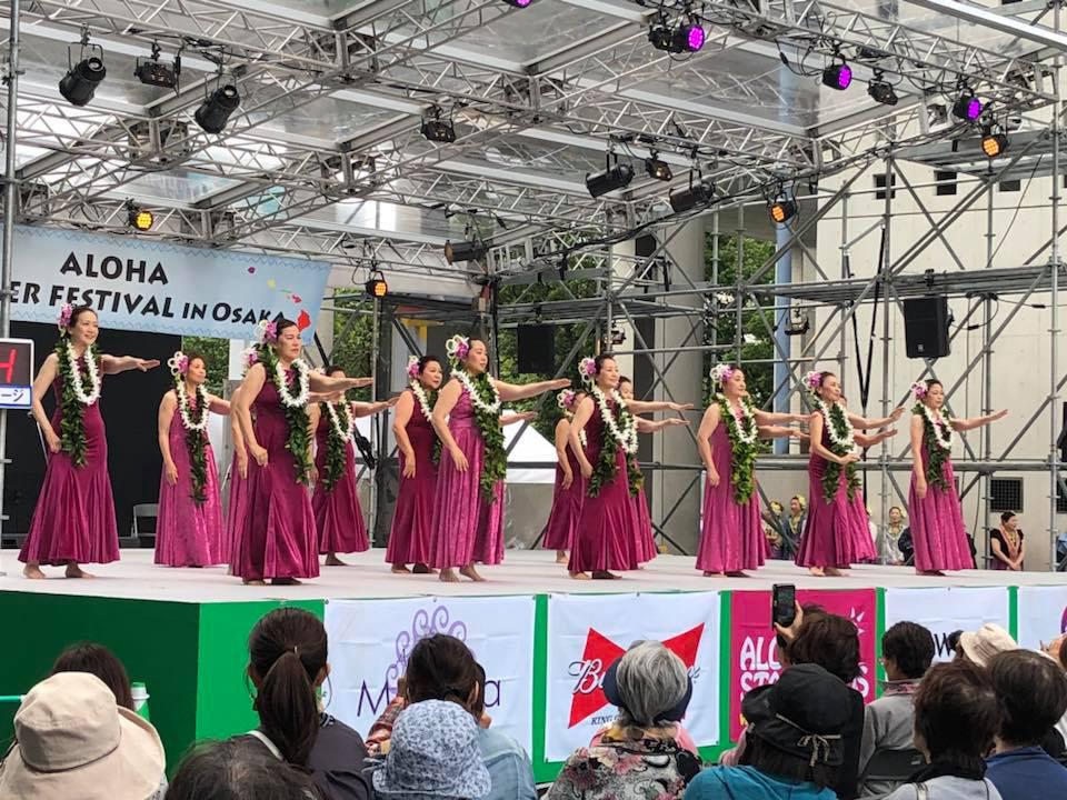 2018年5月19日(土) Aloha Summer Festival in Osaka 2018 グループ