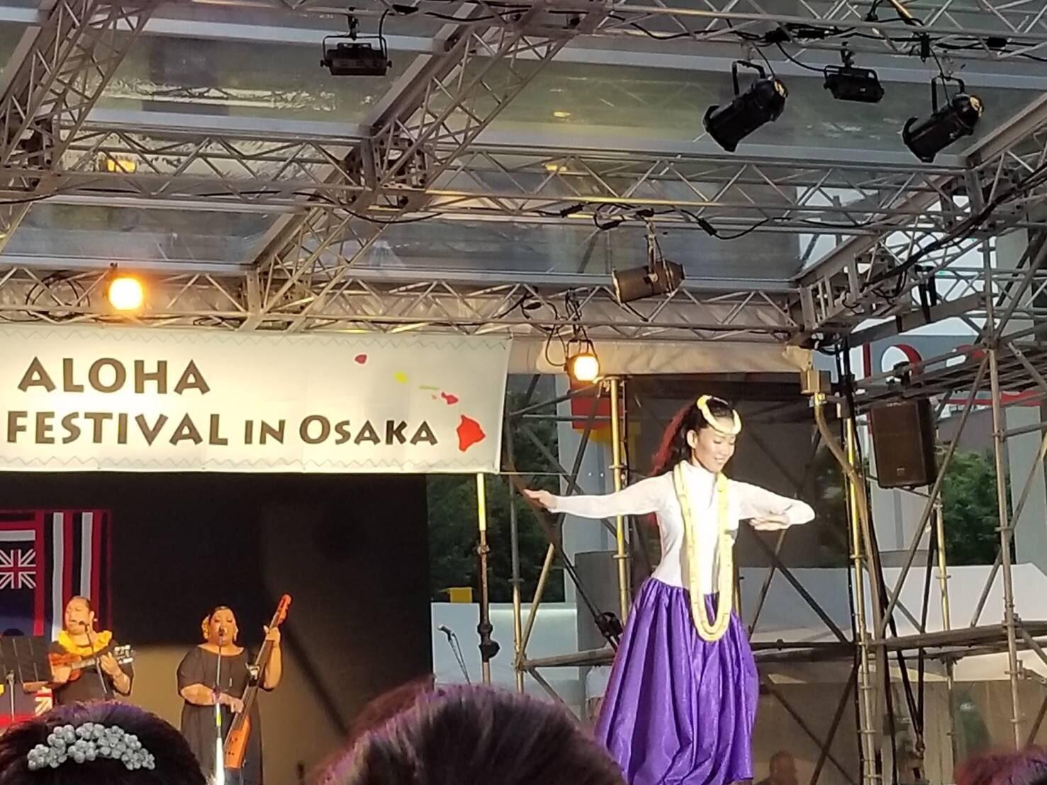2018年5月18日(金) Aloha Summer Festival in Osaka 2018 ソロ