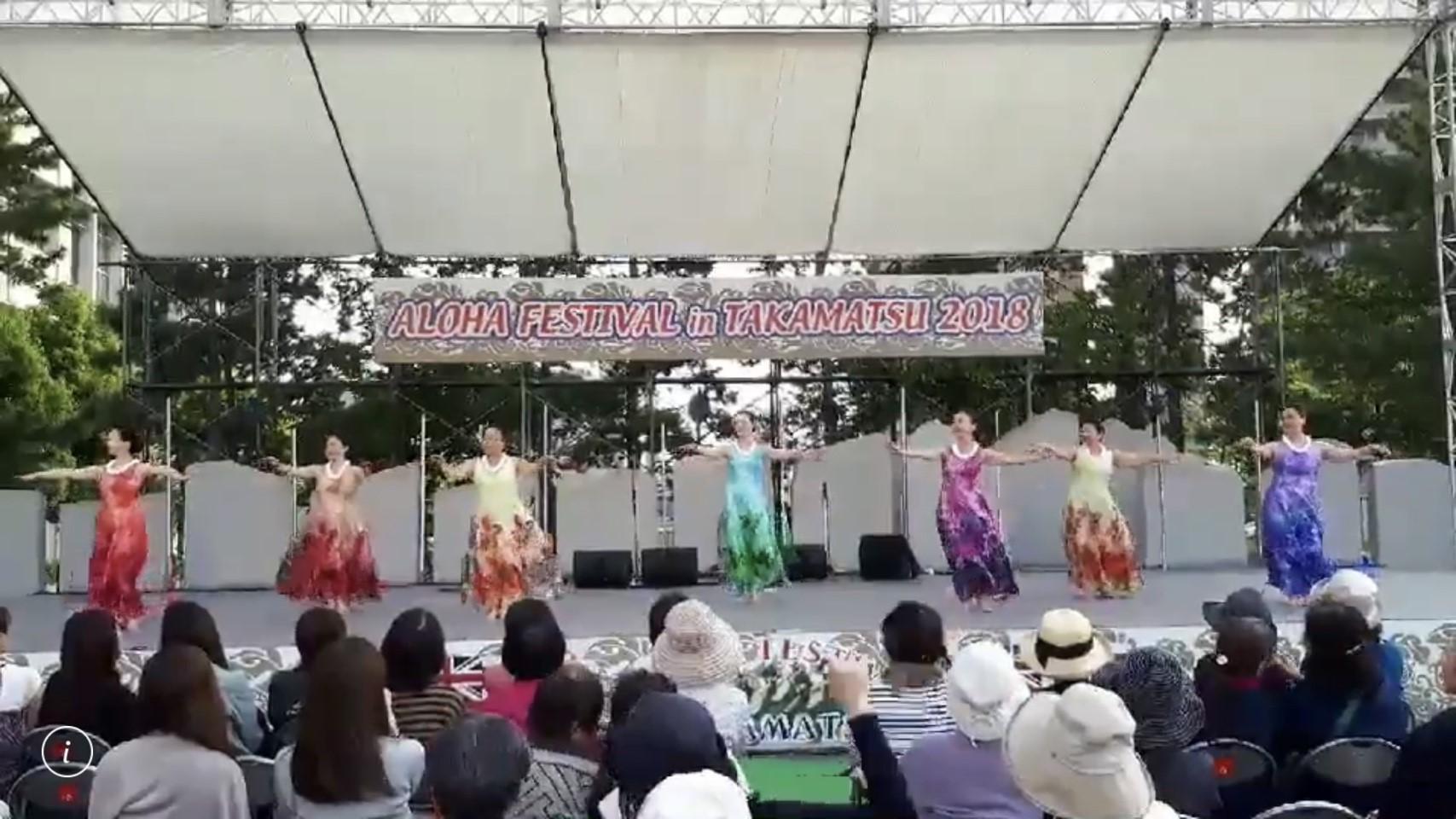 2019年5月11日(土)  Aloha Festival in 高松