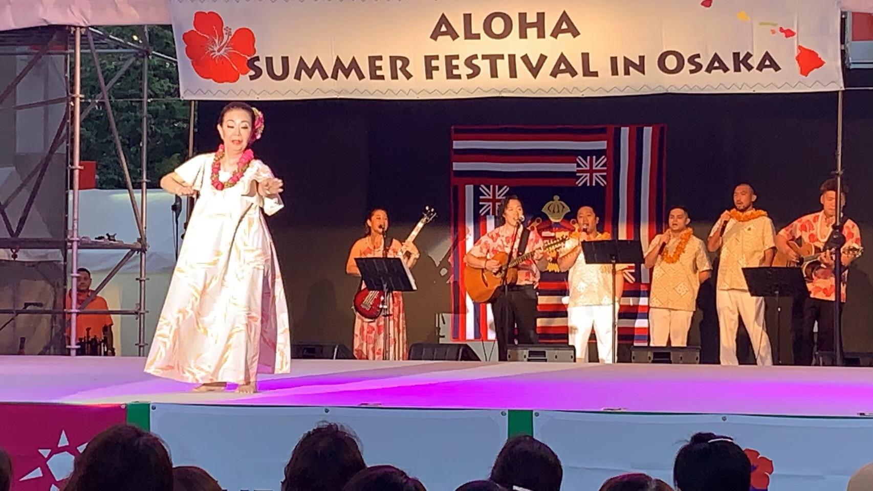 2019年5月24日(金)ALOHA SUMMER FESTIVAL in Osaka 2019 ソロ